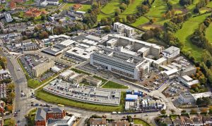 SVUH architect aerial picture